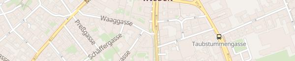 Karte City - Waaggasse Wien
