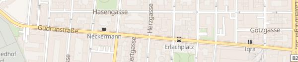 Karte City - Herzgasse Wien