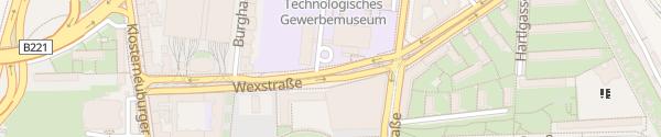 Karte City - Wexstraße Wien