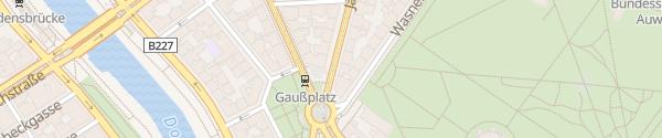Karte City - Jägerstraße Wien