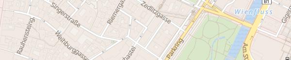 Karte Telefonzelle Stubenbastei Wien