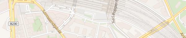 Karte Hauptbahnhof Garage Wien