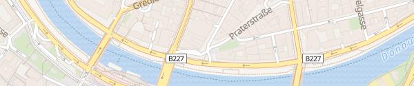 Karte Garage Praterstraße Sofitel Wien