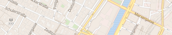 Karte City - Stubenring Wien