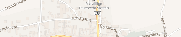 Karte E-Bike Ladestation Volksschule Stetten