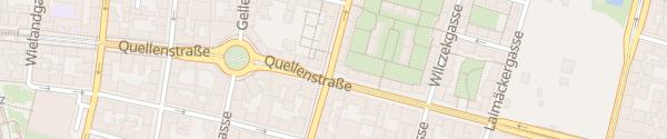 Karte City - Steudelgasse Wien