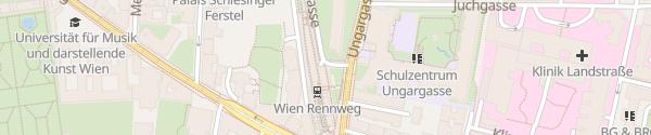 Karte APCOA Parkgarage Wien