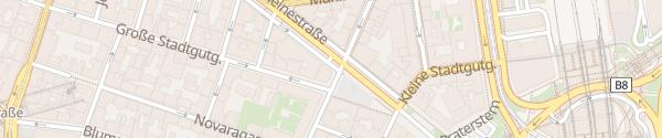 Karte City - Heinestraße Wien