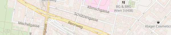 Karte Hotel Enziana Wien