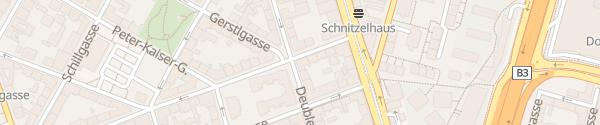 Karte City - Anton-Störck-Gasse Wien