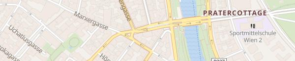 Karte City - Rasumofskygasse Wien
