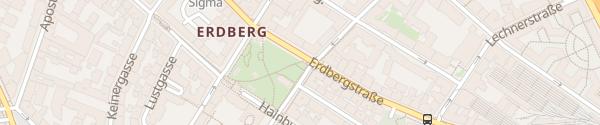 Karte City - Kardinal-Nagl-Platz Wien