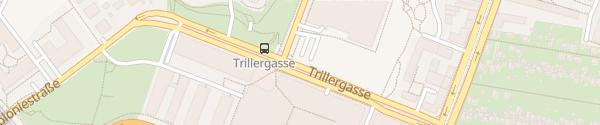 Karte City - Trillerpark Wien