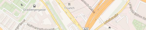 Karte Hotel Doppio Wien