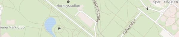 Karte Die Allee Prater Wien