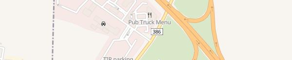 Karte D-1 Autopark Ostrovačice