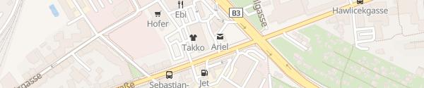 Karte Shell Car Wash Leopoldauer Straße Wien