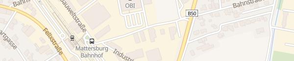Karte OBI Mattersburg