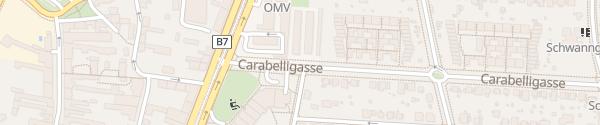 Karte City - Carabelligasse Wien