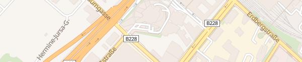 Karte ÖAMTC Zentrale Wien