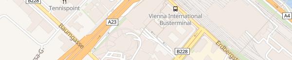 Karte P+R Garage Erdberg Wien