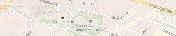 Karte APCOA Garage Gasometer City C Wien