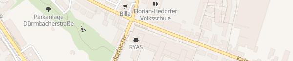 Karte City - Kaiser-Ebersdorfer Straße Wien