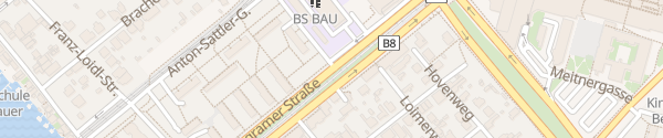 Karte City - Wagramer Straße Wien