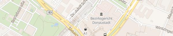Karte Donauzentrum Parkhaus 2 Wien