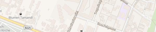 Karte City - Roschégasse Wien