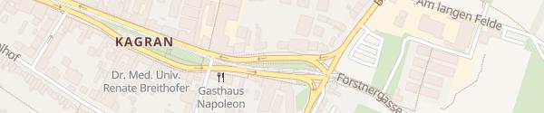 Karte City - Kagraner Platz Wien