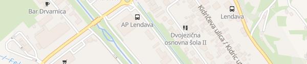 Karte PP Lendava Lendava