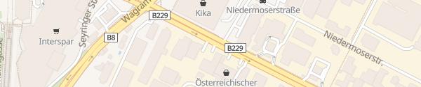 Karte City - Rautenweg Wien
