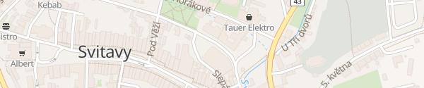 Karte Restaurace Fabrika Svitavy