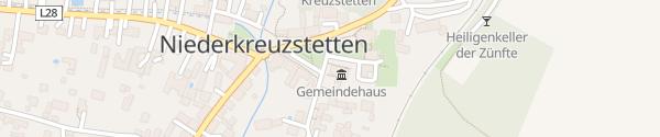Karte Gemeindeamt Niederkreuzstetten