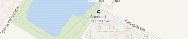 Karte City - Badeteich Hirschstetten Wien