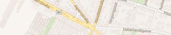 Karte City - Aspernstraße Wien
