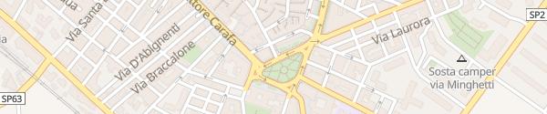 Karte Piazza Giovanno Bovio Ruvo di Puglia