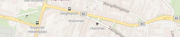 Karte City - Siegesplatz Wien