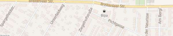 Karte City - Ziegelhofstraße Wien
