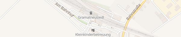 Karte Bahnhof Gramatneusiedl