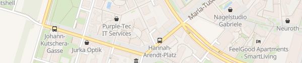 Karte WIPARK Garage Seestadt Aspern P1 Wien