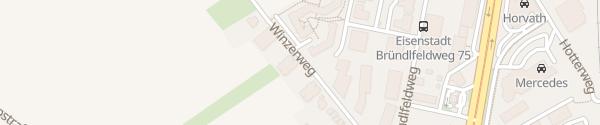 Karte Wohnanlage Winzerweg Eisenstadt
