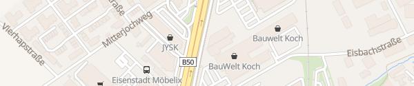 Karte Autohaus Denzel Eisenstadt