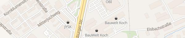 Karte OBI Markt Eisenstadt