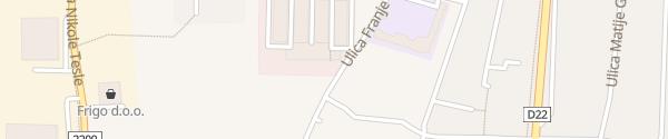 Karte Razvojni centar i tehnološki park Križevci