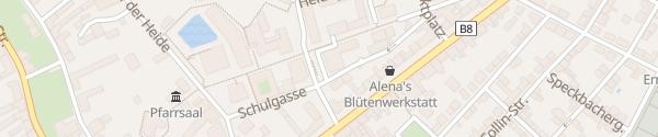 Karte Gemeindeamt Deutsch Wagram