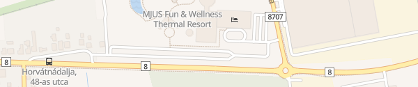 Karte Mjus World Resort & Thermal Park Körmend