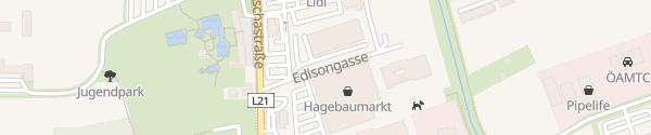 Karte Autohaus Mayer Mistelbach