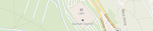Karte Sopron Plaza Sopron